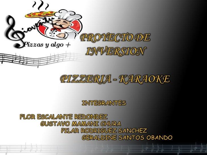 Musical Presentation Add Subtitles Here Pizzas y algo +