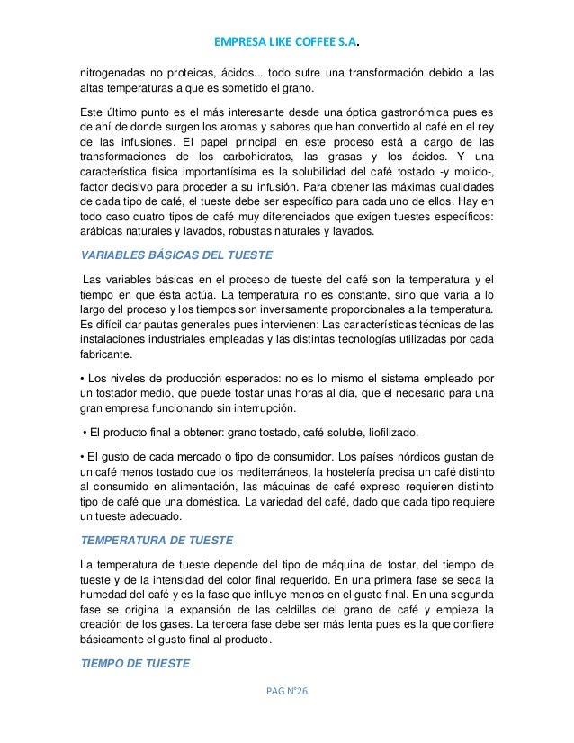 Proyecto de cafe tostado y molido pdf
