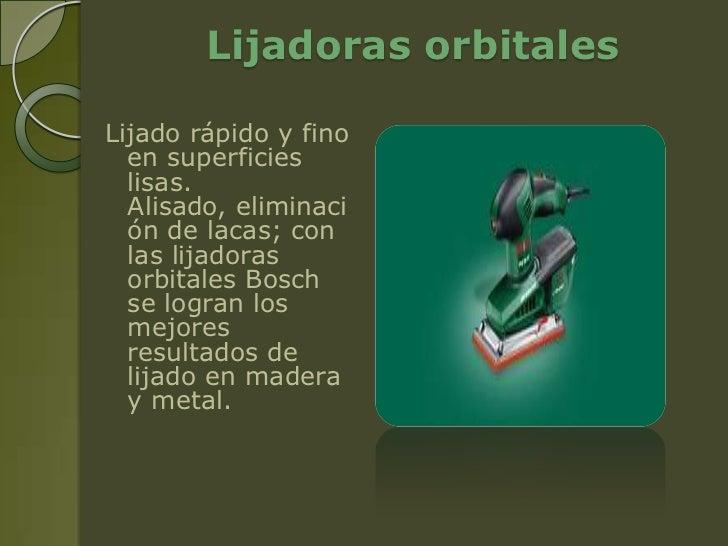 Empresa mi amigo donald - Lijadoras orbitales electricas ...