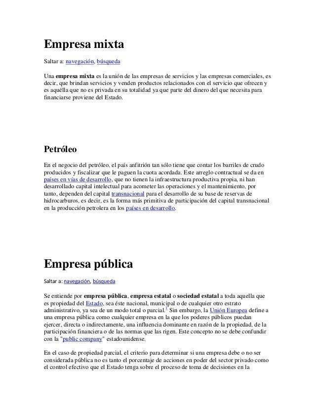 Empresa privada for Origen y definicion de oficina