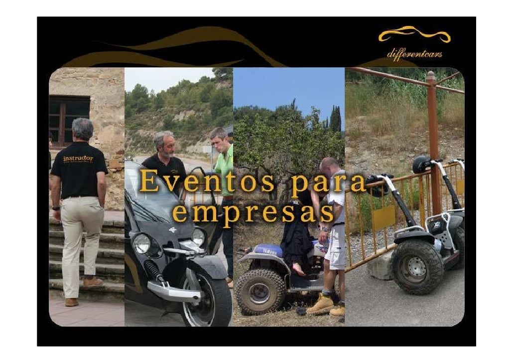 DifferentCars Especialistas en eventos de conducción para empresas