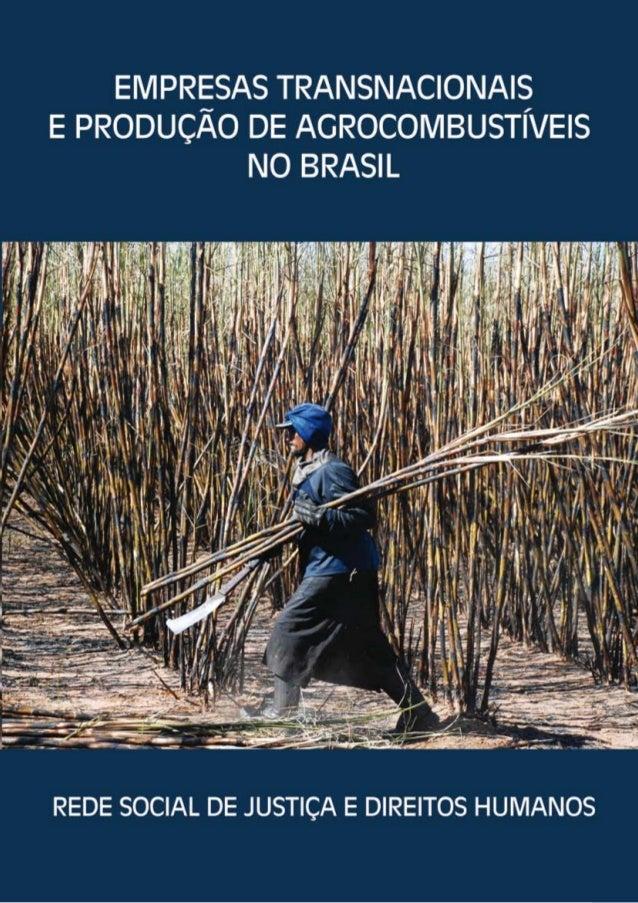 Empresas Transnacionais e Produção de Agrocombustíveis no Brasil
