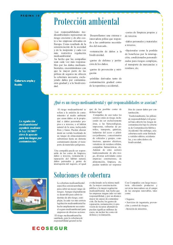 PÁGINA 10                          Protección ambiental                           Las responsabilidades me-               ...