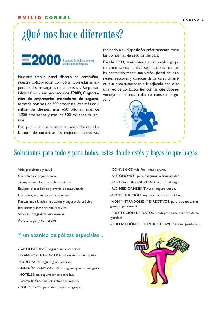 EMILIO CORRAL                                                                                         PÁGINA 3   ¿Qué nos ...