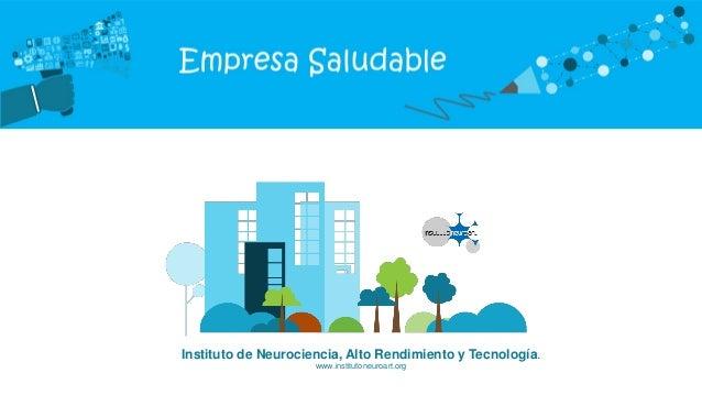 Instituto de Neurociencia, Alto Rendimiento y Tecnología. www.institutoneuroart.org