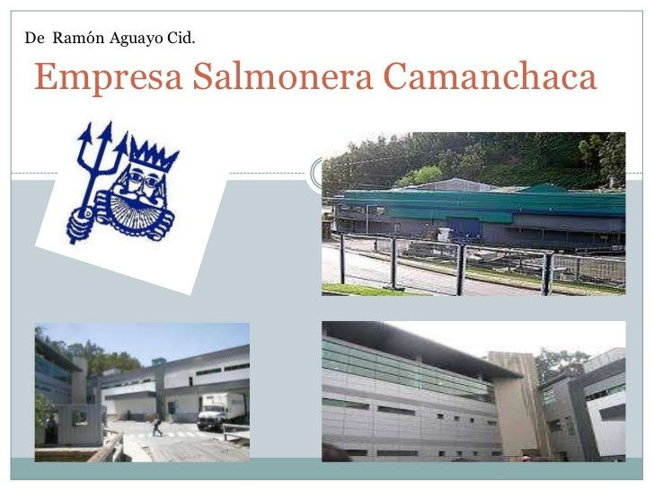 De Ramón Aguayo Cid. Empresa Salmonera Camanchaca