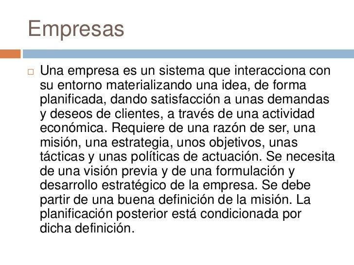 Empresas definicion - photo#5