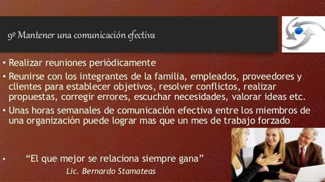 Recordémoslo siempre  • Escribir la visión y la misión de nuestra empresa  • Confeccionar un protocolo familiar y empresar...