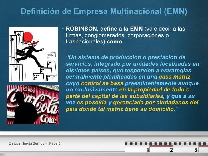 Empresas Multinacionales Slide 3
