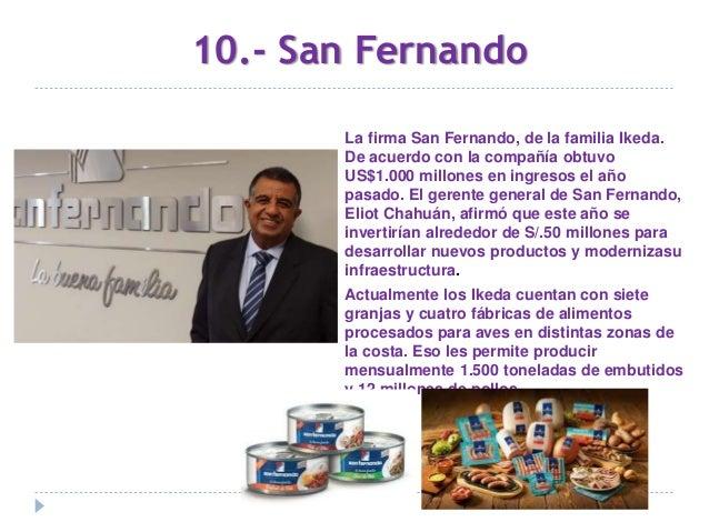 10 Empresas peruanas multimillonarias