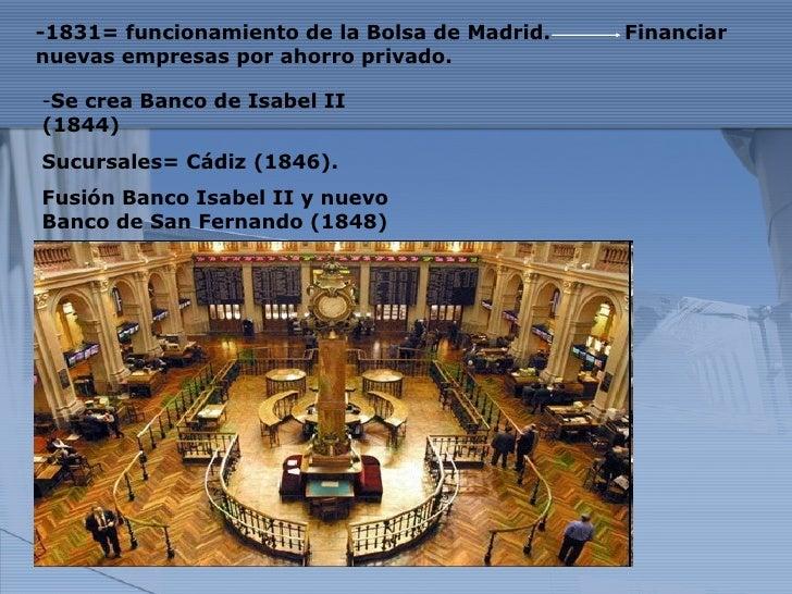 Empresas y bancos de espa a en el siglo xix for Sucursales banco espana