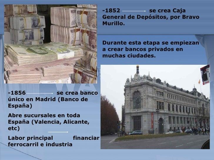 Empresas y bancos de espa a siglo xix for Sucursales banco santander barcelona