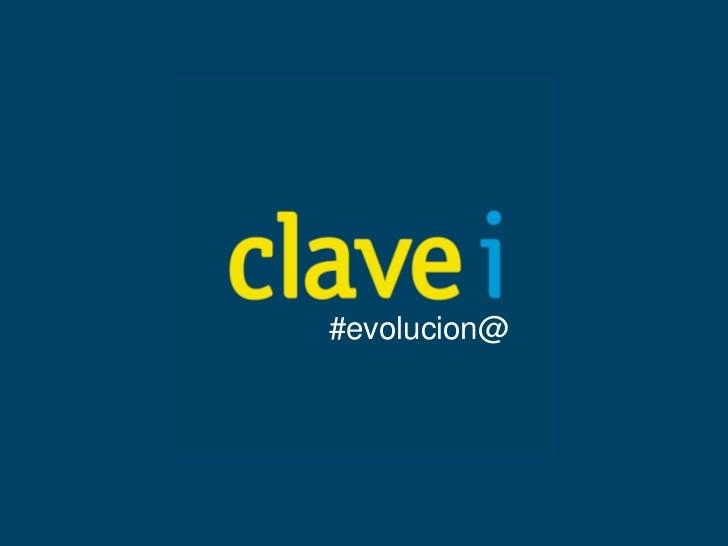 #evolucion@