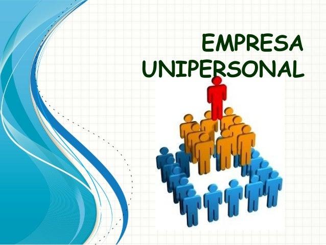 Empresa unipersonal diapositivas for Empresas de desatascos en alicante