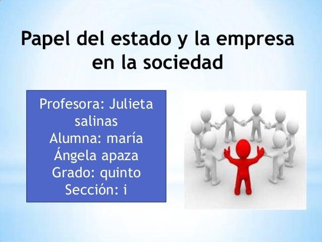 Profesora: Julieta     salinas Alumna: maría  Ángela apaza  Grado: quinto    Sección: i