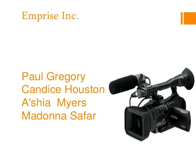 Emprise Inc.Paul GregoryCandice HoustonAshia MyersMadonna Safar