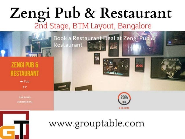 Btm layout zengi bar and restaurant