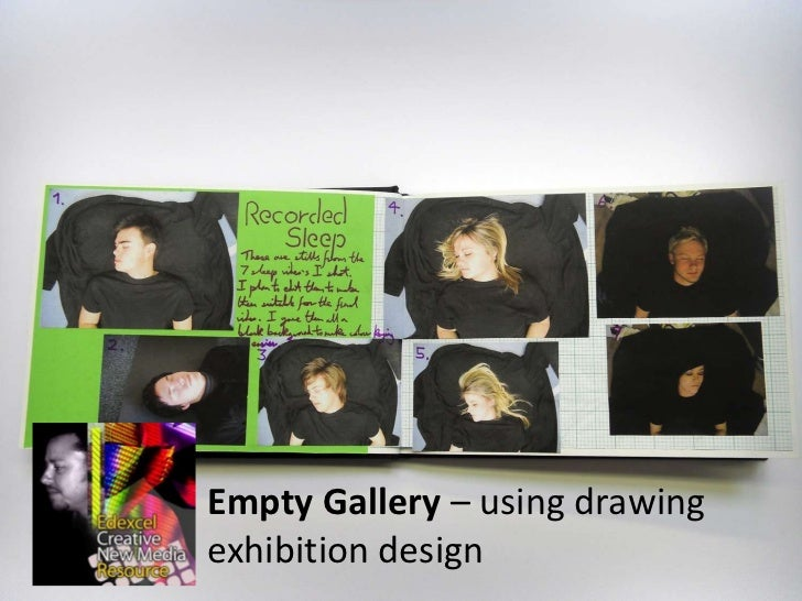 Empty Gallery – using drawing exhibition design<br />