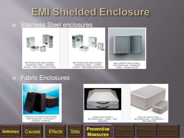 Emi And Emp Protection And Shielding