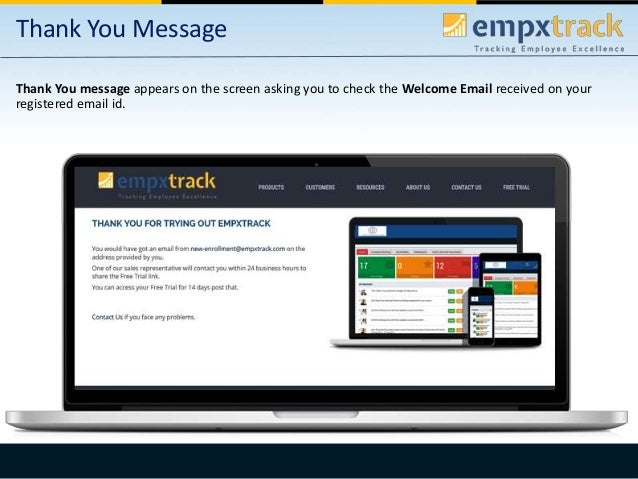 Empxtrack enrollment and initial introduction Slide 3