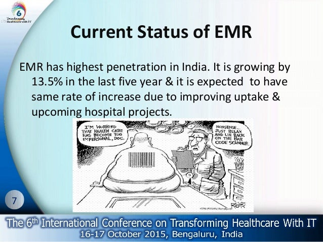 Electronic medical records and penetration
