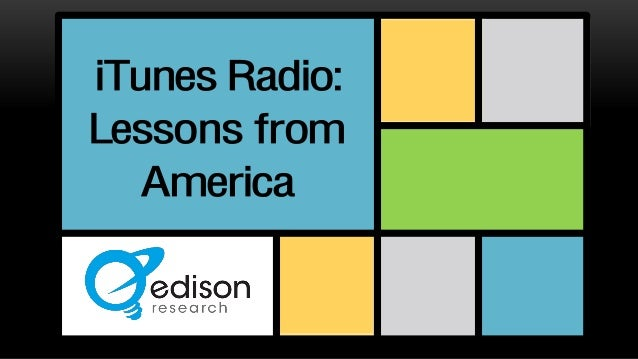 iTunes Radio: Lessons from America