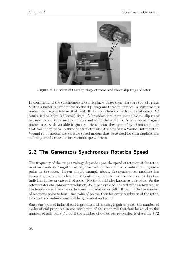 16 30 34 Three Phase Synchonours Generator