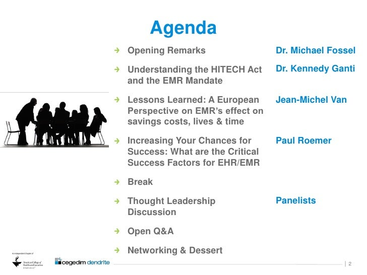 How to Format an Agenda for a Panel Discussion