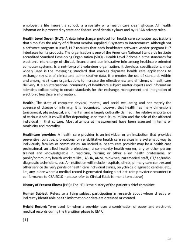 confidentiality of health information term papers Confidentiality of personal information provides a secure environment for the provision of quality care and the hospital is required by law to protect personal information and comply with the health 3 definition of terms confidentiality is the right of an individual to not have personally identifiable.