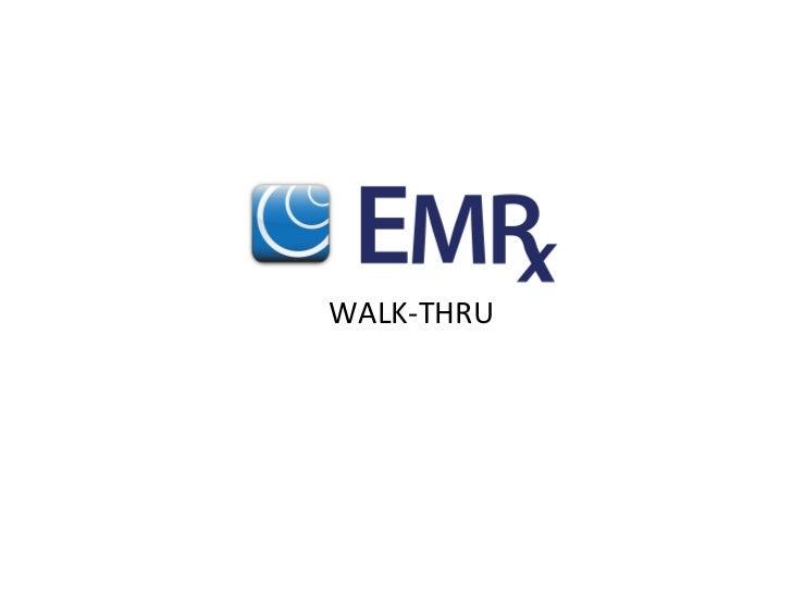 WALK-‐THRU