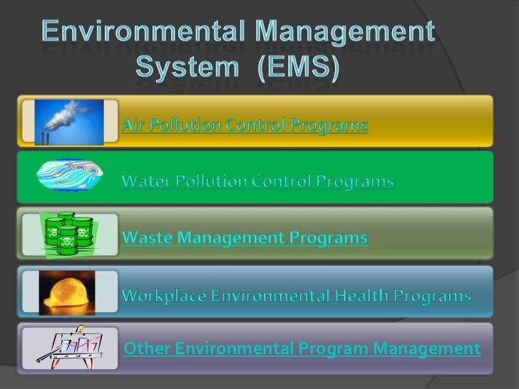 Environmental Management System Development