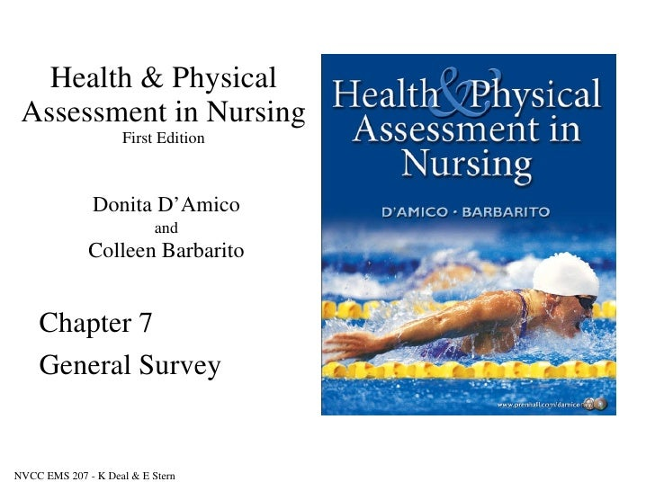 physical health assessment of adult The nursing health assessment is an incredibly valuable tool nurses have in their arsenal of skills a thorough and skilled assessment allows you, the nurse, to obtain descriptions about your patient's symptoms, how the.