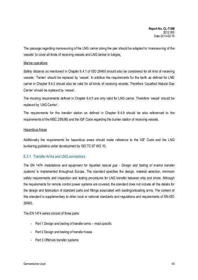 Emsa finalreportbunkeringlng op062012b 1 – Employee Leaving Announcement Sample