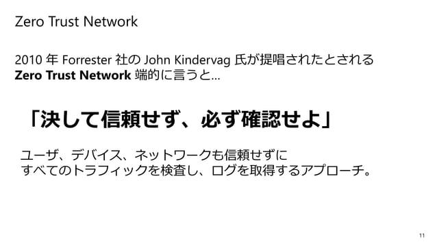 12 各企業の Zero Trust Network に対する取り組みやソリューション • Google https://jp.techcrunch.com/2019/04/12/2019-04-10-google-cloud-unveils-...