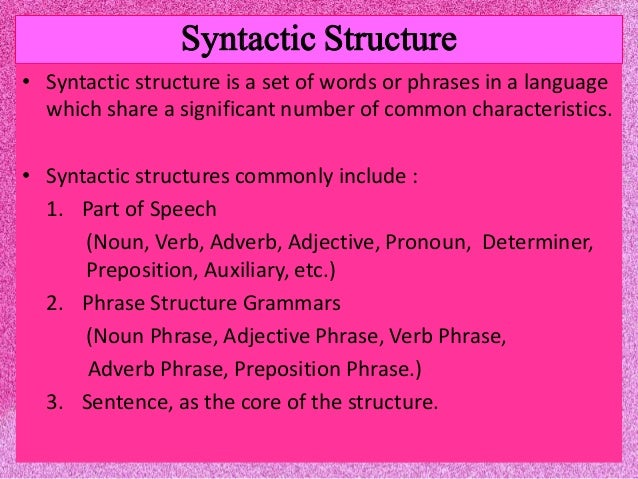 SYNTACTIC STRUCTURES PDF DOWNLOAD   Education Pdf