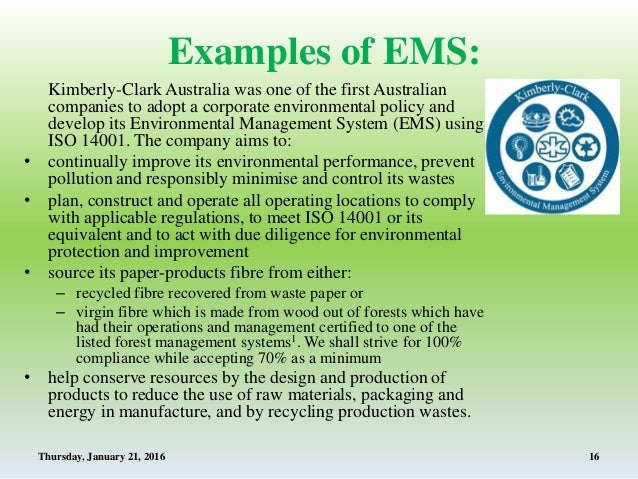 modules of environmental management system