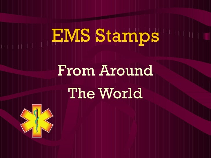 EMS Stamps From Around The World