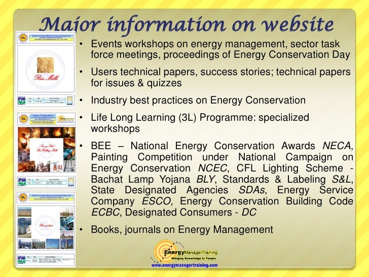 Energy manager training website fandeluxe Images