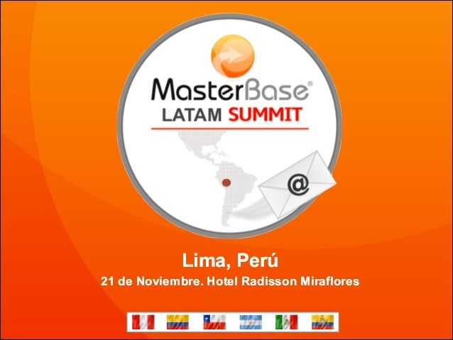 Lima, Perú 21 de Noviembre. Hotel Radisson Miraflores