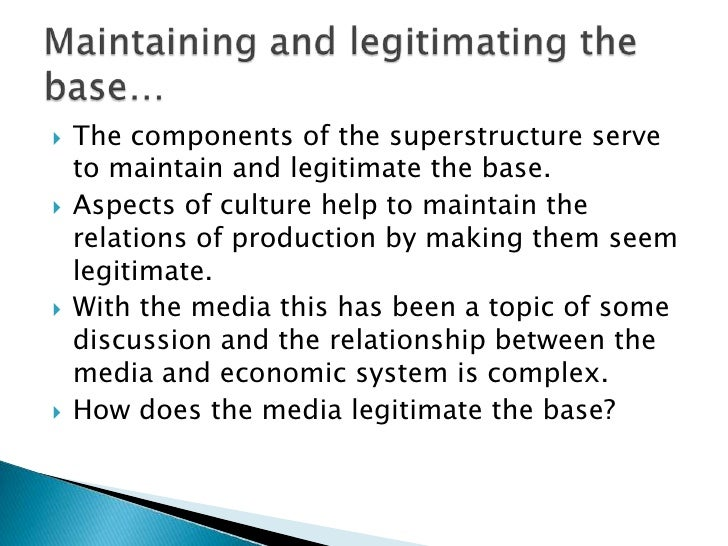 relationship between base and superstructure in marxist theory pdf