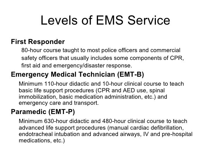 Starting An Emt Program At Your High School
