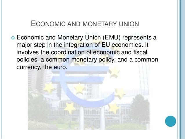 Emu (Economic and monetary union) Slide 2