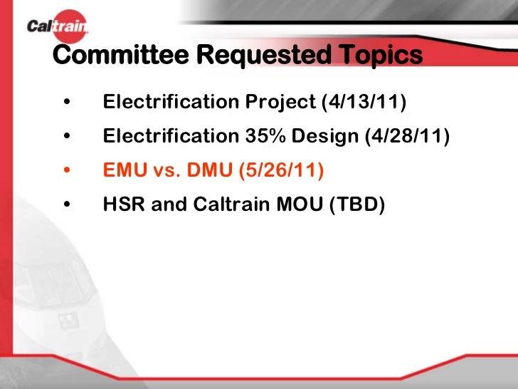 Caltrain EMU DMU Comparison Slide 2