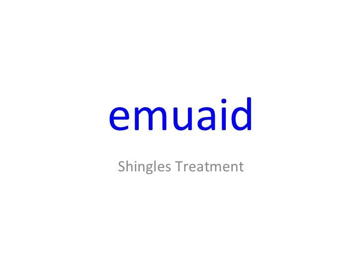 emuaid Shingles Treatment
