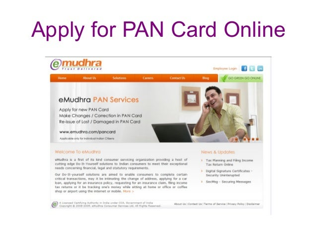 New Pan Card Online Application Form For Pan Card New