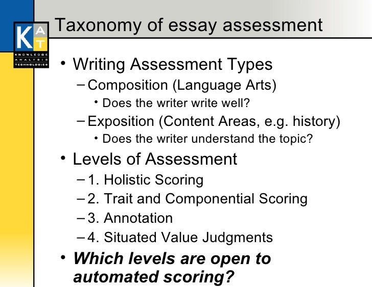 automated essay scoring open source And not necessarily of educational testing service 2 argument for automated essay scoring as difference in the meaning of automated scores a second source.