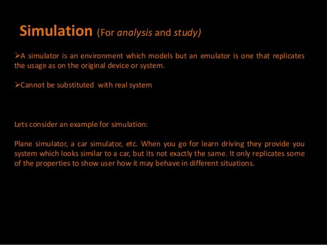 simulator and emulator in embedded systems pdf