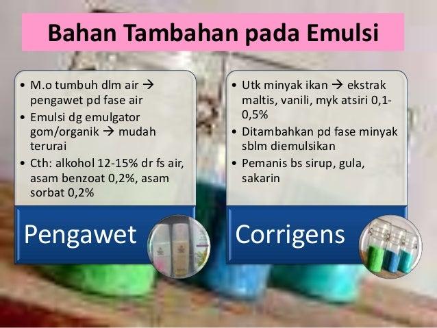 Formula Pembuatan Emulsi Farmasi