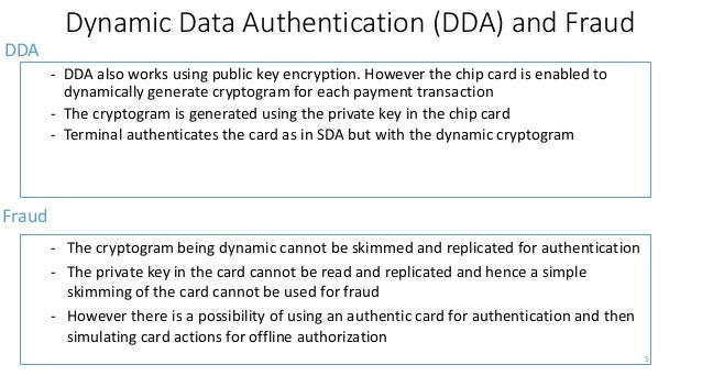 Key Authentication And Other Online Verification Requirements 5