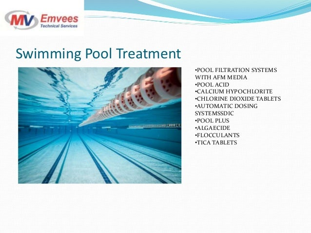 Water Treatment Services : Emvees water treatment services